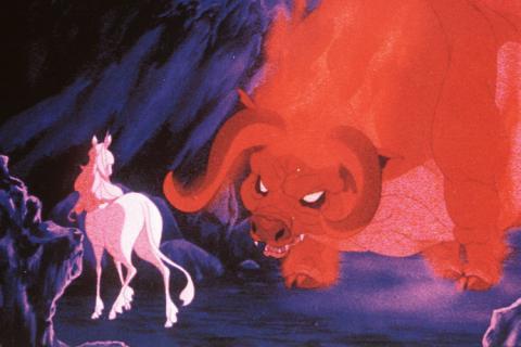 Roter Stier Das Letzte Einhorn
